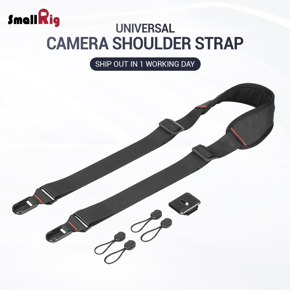 SmallRig DSLR Camera Adjustable Shoulder Strap With Quick Attachment / Detachment Rapid Link Connectors 2428
