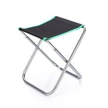 Ультра-светильник, портативный складной стул для рыбалки, алюминиевый сплав, складной стул для кемпинга, пикника, рыбалки, пляжное кресло с сумкой