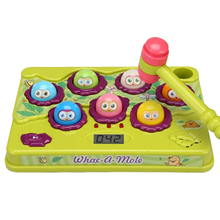 Mole Game Toy Durable Colorful Whack A Mole Toy For Children Electric Game Consoles Children's Educational Toys