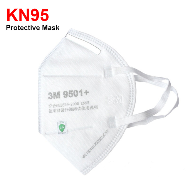 3M Masks 9501 KN95 Dust Mask Anti-haze Riding Protective Mask Anti-particles Filter PM2.5 Safety EarLoop KN95 Mouth Face Masks 3