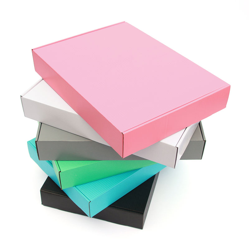 10pcs/kraft Box Wholesale Color Package Small Gift Box Blank 3-layer Corrugated Box Can Be Customized Size And Printed Logo
