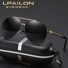 【LPAILON】 2021 new polarized driving and fishing men's sunglasses P8738