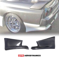 Carbon Fiber Glossy Finished For Nissan Skyline R32 GTR TS Style Rear Spat Aprron Car accessories Exterior Body kits