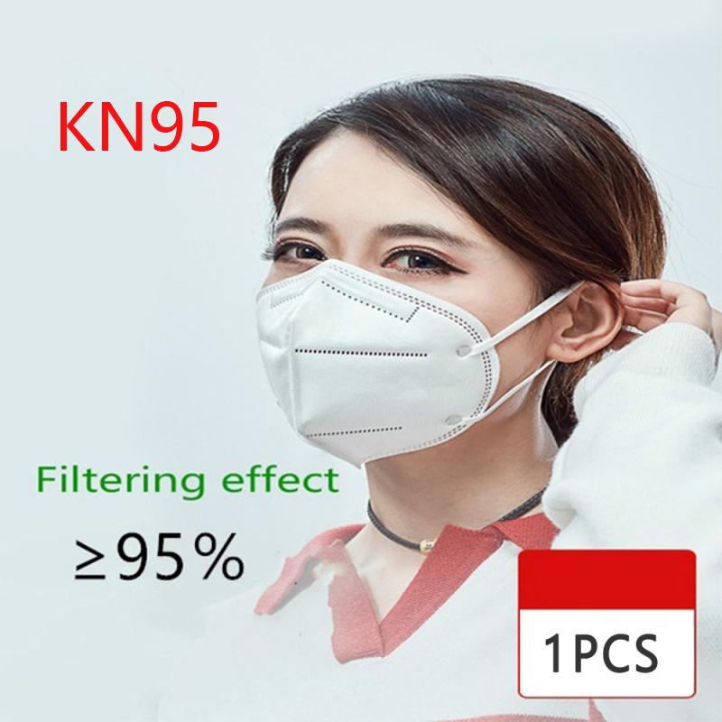 FFP1 2 3 N95 Mask Respirator Face Mask Anti Dust Reusable N95 Mask Carbon PM2.5 Filter Disposable Proteccion Fpp3 Mask In Stock