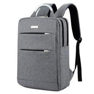 Waterproof Women Men Laptop Backpack Business Notebook BackpacK Bag School Travel Bags Mochila Masculina(China)