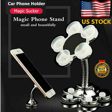 Hot Lazy Mobile Phone Stand Holder Stents Flexible Table Bracket for Phone Flexible Holder Windshield Gravity Sucker Car