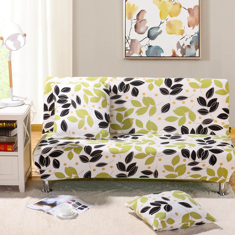All-inclusive Sofa Bed Cover Without Armrest Elastic Stretch Couch Cover Folding Sofa Cover S/M/L Sizes Fundas De Sofa
