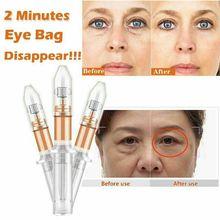 1pcs  2 minutes immediately remove eye bags dark circles cream effect edema anti wrinkle eye care