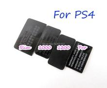 200pcs עבור PS4 slim/1000 1100/1200/ pro onsole תווית מדבקת שיכון מעטפת מדבקת Lable חותמות עבור PS4 Slim מארח מדבקת חותם