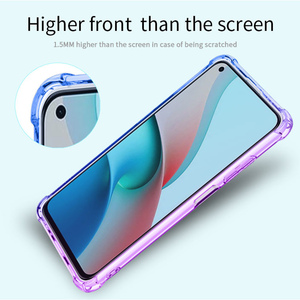 Image 3 - Gradient Case for Xiaomi Redmi Note 9 Pro Max 9S 9T 5G Cases Note9T Cover Women Note9 T Note9S Covers Transparent Luxury Bumper