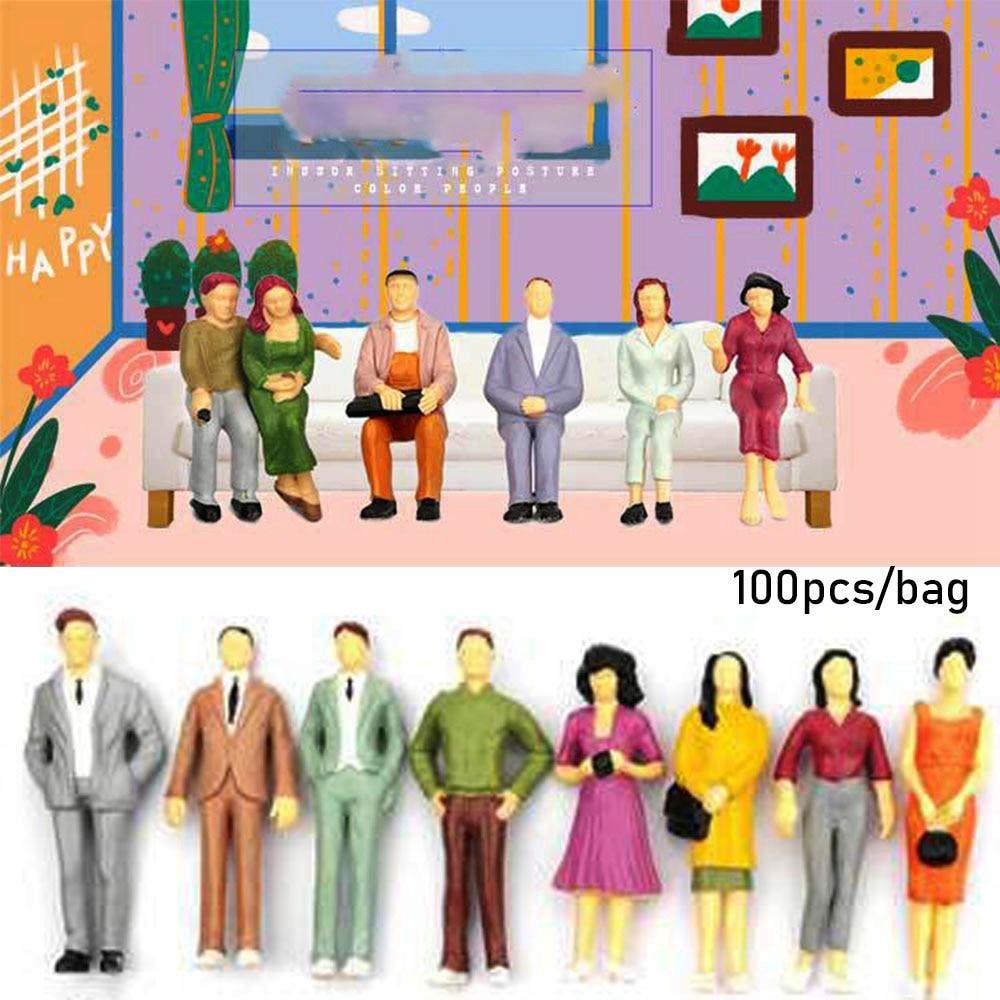 Scenery Model People 1:150 Scale Landscape Placement Miniature Accessories