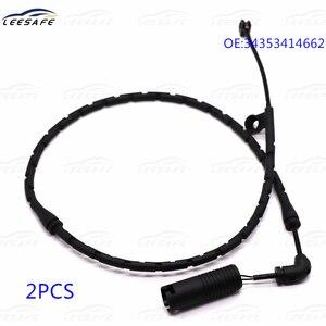 2 PCS Front Brake Pad Wear Sensor 34353414662 for BMW X3 E83 2.0d 2.0i 2.5i 2.5si 3.0d XDrive 18d 20d 20i 25i 30d 30i EWI