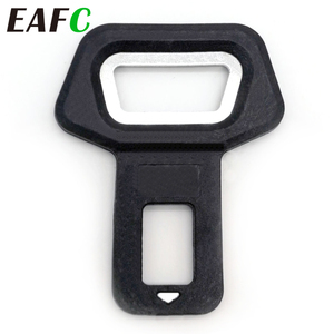 Image 1 - EAFC Universal Car Safety Belt Clip Car Seat Belt Buckle Vehicle mounted Bottle Openers Car Accessories