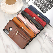Phone Case For Coque Huawei P30 Lite Cover Pro Luxurry zipper Leather Wallet Card Capa Fundas