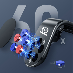 Автомобильный магнитный держатель для телефона, Магнитная подставка для сотового телефона с вентиляционным отверстием для Mazda 6 3 CX5 5 2 323 CX7 Demio Atenza Axela MX30 CX30 Наклейки на автомобиль      АлиЭкспресс