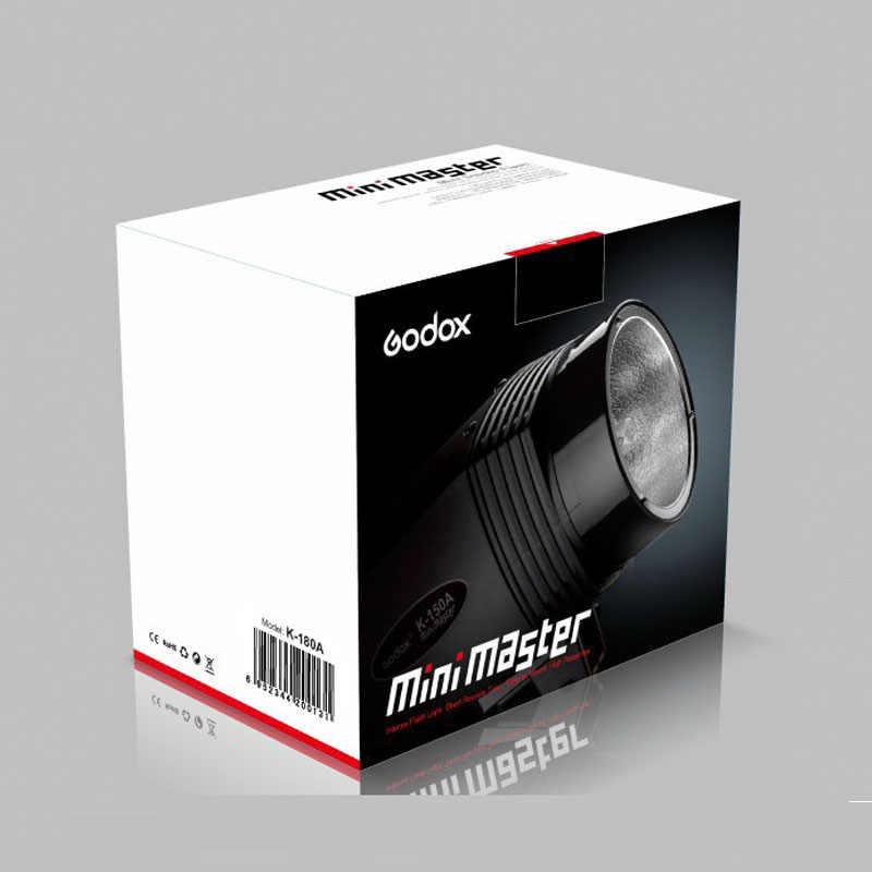 Godox Photo Studio Strobe Flash Light K180A 180W 45GN Pre-flash สำหรับแฟชั่นเกมส์ยิง