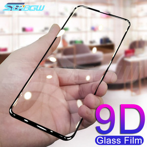 9D Protective Glass For Huawei Honor 20 Lite V20 V10 V9 Screen Protector Honor 9X 8X 9i 10i 20i 8A 8C Play Tempered Glass Film(China)