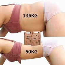 10/100Pcs Chinese Geneeskunde Gewichtsverlies Navel Stick Magnetische Slanke Vetverbranding Afslanken Diëten Slim Patch Pads Detox zelfklevende Vel