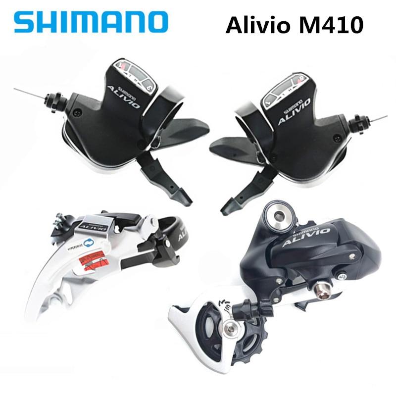 SHIMANO Alivio M410 мини набор 7 8 мотоцикл FD M412 передний/RD M410 задний переключатель/SL M410 шифтеры опционально купить|Велосипедный переключатель|   | АлиЭкспресс