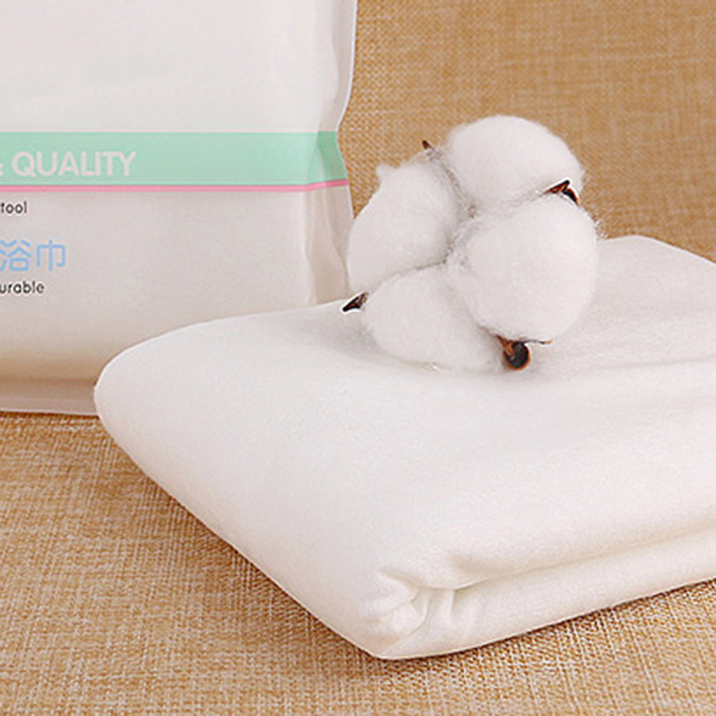 Guest Bath Towels Disposable Non-woven Fabric Absorbent Napkins Outdoor Travel Bathroom Parties Wedding Washcloth