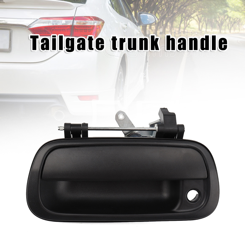 Car Tail Gate Trunk Handle Exterior Trunk Tail Handle Replacement Vehicle Parts B99