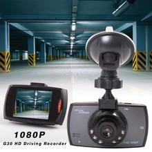 G30 HD Driving Recorder Dash Cam Night Vision Wide Angle 2.3 Inch 1080P Parking Dashboard Camera Drive