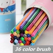 Набор изысканных акварельных ручек для рисования 36 цветов радужные