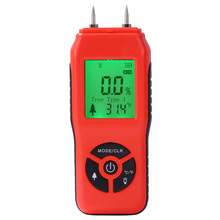Handheld Wood Moisture Meter Hygrometer Timber Tree Density Digital Display Wood Humidity Tester Timber Damp Detector 2%~70% все цены