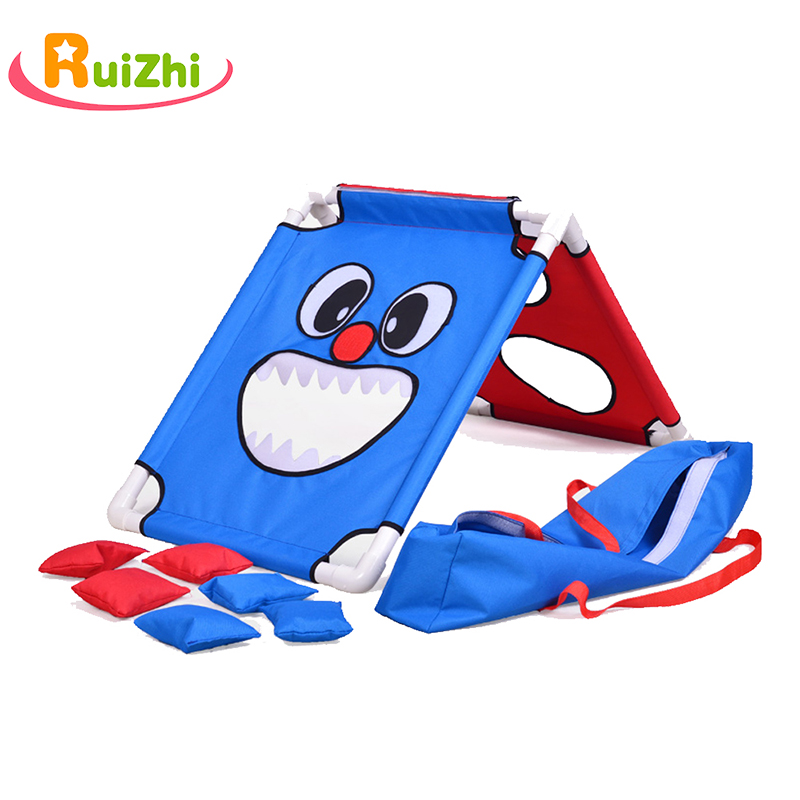 Ruizhi Kindergarten Throwing Beanbag Game Set Cartoon Animal Sandbag Outdoor Sport Parent-Child Interaction Game Kid Toys RZ1118