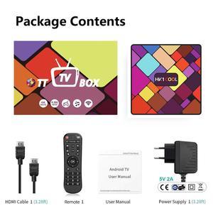 Image 5 - Android 9.0 Smart TV Box HK1 FREDDO RK3318 Quad Core 4G/64G Dual WIFI BT IPTV Neflix youtube Google Player Set top box pk hk1 max