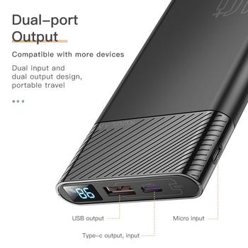 Внешний аккумулятор KUULAA, 10000 мА*ч, 2 x USB, QC 3.0, PD 3.0 4
