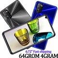 Недорогие мобильные телефоны на базе Android, 8А мобильный телефон с разблокировкой по лицу, 6,72 дюйма, глобальные смартфоны, 4 Гб ОЗУ, 64 Гб ПЗУ, 8 М...