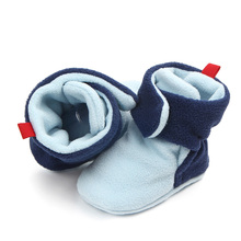 Winter Crib Soft Sole Baby First Walkers Newborn Boots Infant Boy Girl Toddler Shoes Bebe Snow Boot Warm Baby Socks Shoes