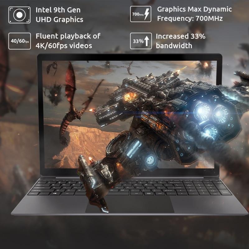 Bmax x15 15.6 Polegada portátil intel 4120 cpu quad core windows10 notebook 1920*1080 8gb ram 128gb rom duplo wifi hdmi usb gamelaptops 3