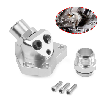 New Swivel Neck Thermostat Housing For Honda K Series K20 K24 Radiator Hose K Swap Car Cooling System Replacement Accessories
