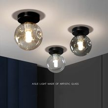 Ceiling lights luces led para habitacion panel cocina accesorio de teto lampara techo decoration salon living bedroom glass