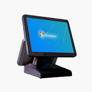 Windows POS All In One Odering Pos Terminal Touch cash register PC pos systems For retail