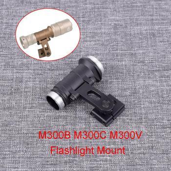 new nitecore handle mount kit nhm20 for monster tiny series tmc16tm16gt travel flashlight assembly original accessories Flashlight Mount Fit For M300B M300C M300V Series For ARC Helmet Rail Intergrated flashlight mount
