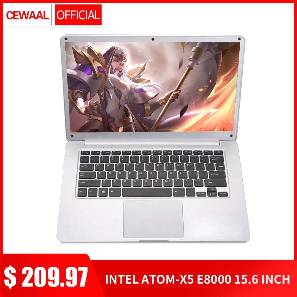 "2019 Newest 15.6"" Ultra-thin Laptop Intel E8000 Quad Core 4G+64G SSD M.2 Computer WiFi Bluetooth HDMI Movie/Sport/Gamin Notebook"