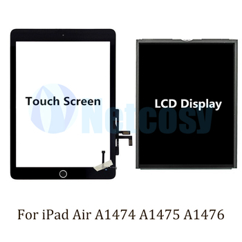 For ipad Air A1474 A1475 A1476 Touch Screen Digitizer panel / LCD Display Screen Repair Parts For ipad A1474 A1475 A1476 Tablet image