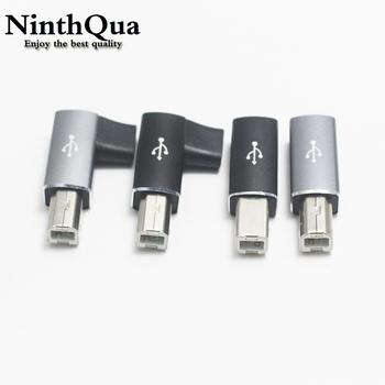 1 sztuk USB C na USB B MIDI konwerter wtyczki typu C na USB złącze interfejsu Midi dla elektronicznego kontrolera Instrument muzyczny Midi tanie i dobre opinie NinthQua CN (pochodzenie) NONE usb b-type c