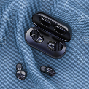 Image 4 - Waterproof 9D Stereo Music Headset B5 TWS Bluetooth Wireless Earphone 5.0 Touch Control Earbuds with 300mAh Power Bank