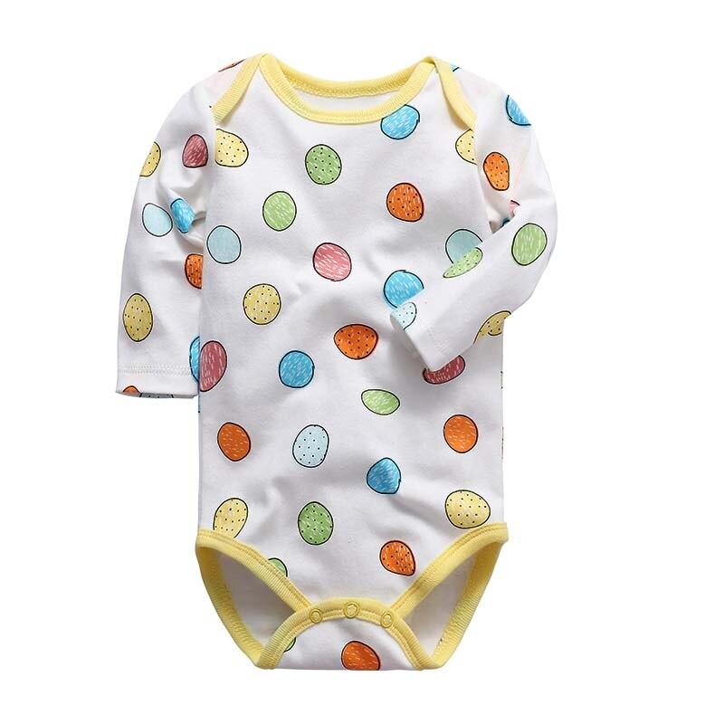 Детское боди; Одежда для новорожденных; хлопковое нижнее белье с длинным рукавом для маленьких мальчиков и девочек; комплекты для малышей