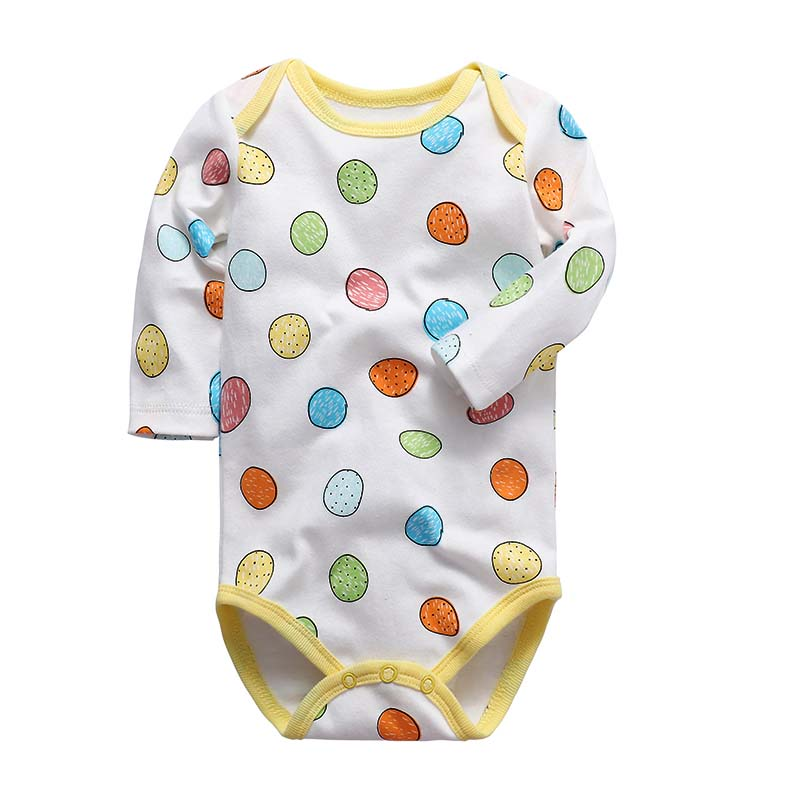 100% Cotton Baby Bodysuit Newborn Cotton Body Baby Long Sleeve Underwear Infant Boys Girls Clothes Baby's Sets