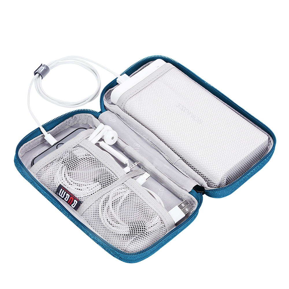 Travel Accessories Portable Digital USB Cable Bag Mobile Phone Power Charger Earphone Coin Organizer Storage Pouch Kit Case