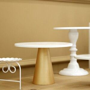Soporte para pasteles SWEETGO blanco + jaula de champán, estantes de almacenamiento, bandejas de cristal para magdalenas, herramientas de Pastel de Bodas, accesorios para decoración del hogar