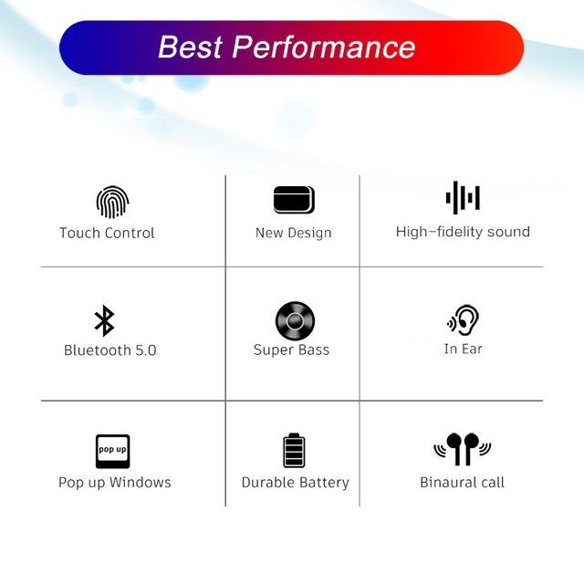 Airpodding Pro 3 Bluetooth Earphone TWS Wireless Headphones HiFi Music Earbuds Sports Gaming Headset For IOS Android Phone 3