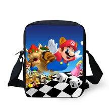 Haoyun/модные сумки мессенджеры сумка через плечо с супер Марио