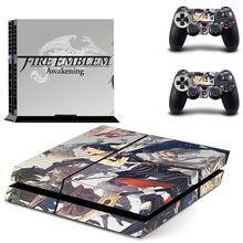 Fire Emblem PS4 Skin Sticker Decal For DualShock PlayStation 4 Console and 2 Controllers PS4 Skin Sticker Vinyl