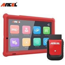 Ancel X5 Completo del sistema OBD2 Strumento di Diagnostica Auto Scanner Wifi/Bluetooth Leggere Airbag ABS TPMS OBD2 Auto Scanner EPB IMMO SRS Reset